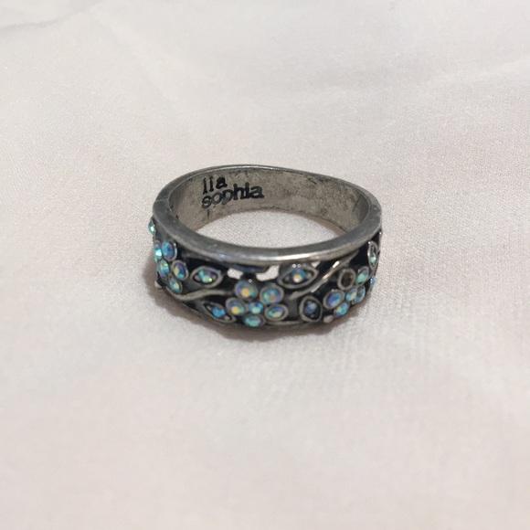 Lia Sophia Jewelry - Lia Sophia silver ring, size 7
